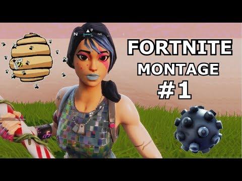 Fortnite Montage #1 (PS4 Pro fortnite battle royale)