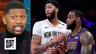 Anthony Davis is pressuring the Lakers to trade for him – Jalen Rose | Get Up!