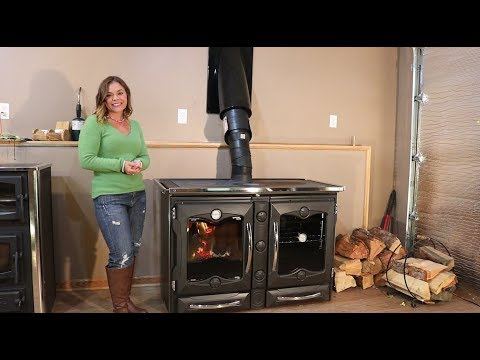 La Nordica America Wood Cook Stove - Product Overview