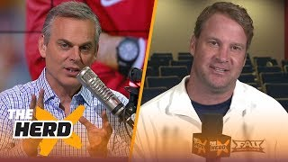 Lane Kiffin on Nick Saban being the best recruiter, Urban Meyer's suspension | CFB | THE HERD