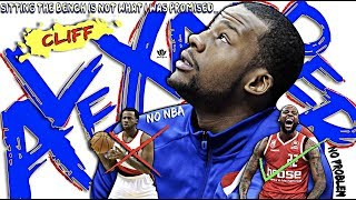 From projected #3 NBA pick→to UNDRAFTED!! What STUNTED Cliff Alexander's GROWTH?