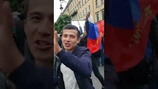 Россия Испания! Питер празднует победу! Чемпионат мира 2018! Россия в 1/4!!! Улицы Питера!