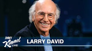 Larry David on Showing Up at Jimmy Kimmel's House on the Wrong Day, His Best Friend & Return of Curb