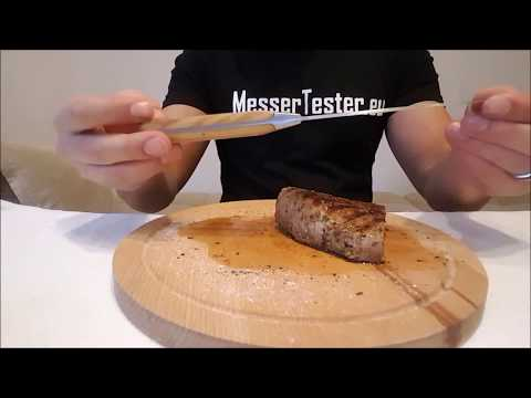 Makami Olive Deluxe Steakmesser Test