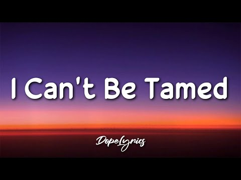 San Pedro - I Can't Be Tamed (Lyrics) 🎵