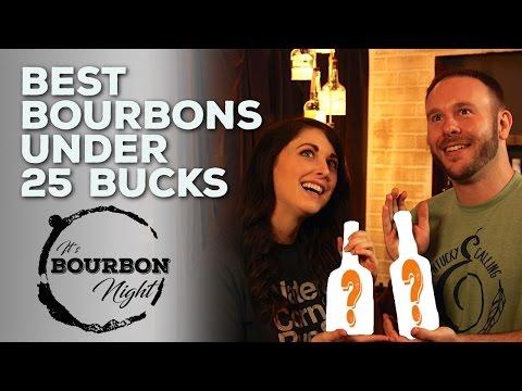Best Bourbons Under $25! (50 Bourbons Flight Fight )