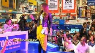 Ariadna Gutierrez, Miss Colombia en el segundo Reto Oster 2015