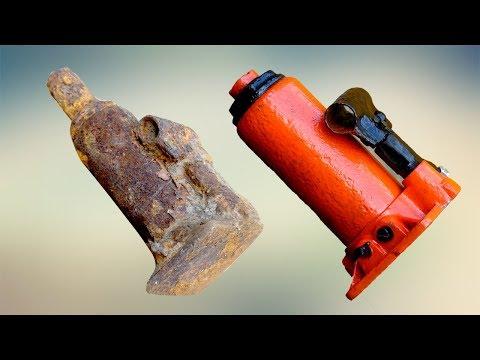 Old Spiral Jack Restoration - ( Screw Jack , Bottle Jack )