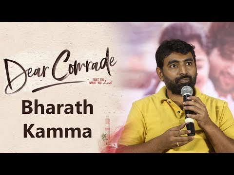 Director Bharath Kamma About Dear Comrade At Success Meet