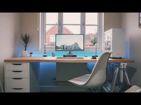 Byte Review Setup Tour 2018   The Ultimate IKEA Desk!