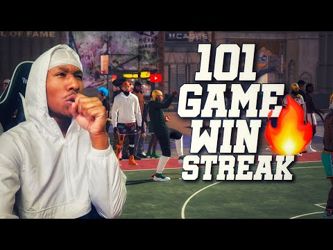 I went on a 100 GAME WIN STREAK ON NBA 2K19 with the Best 99 overall build! Best build 2k19! DEMIGOD