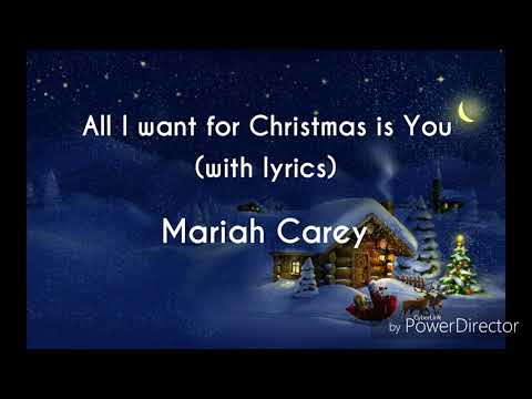 All I Want For Christmas Is You (with lyrics)    Mariah Carey