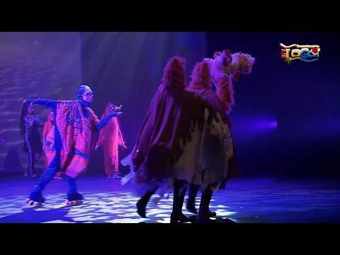 Kunstrolschaatsen en dansen samen op het toneel - RTV GO! Omroep Gemeente Oldambt