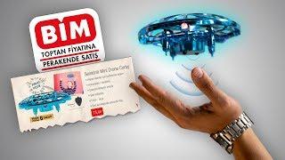 BİM'de 75TL 'ye SATILAN ELLE UÇURULAN DRONE İNCELEMESİ!