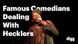 Famous Comedians Dealing With Hecklers