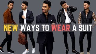 8 NEW Ways To Wear A Suit (Youve Probably Never Tried)
