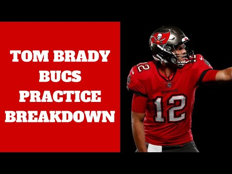 Tom Brady Buccaneers Practice Breakdown