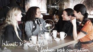 Internet & Streetstyle, A Fashion Week ConverationGarance Doré: Pardon My French
