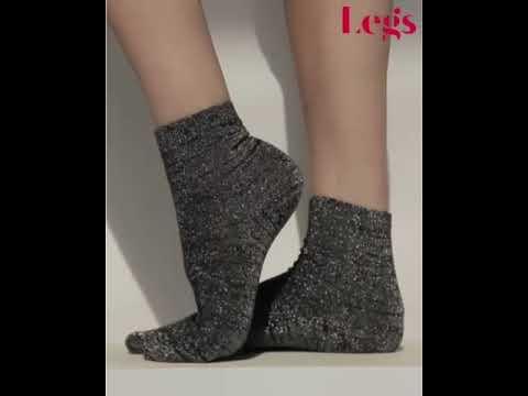 Носки женские с люрексом Legs 01