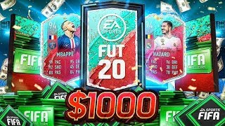 WHAT $1,000 OF PACKS GETS YOU DURING FUT BIRTHDAY!! FIFA 20 Ultimate Team