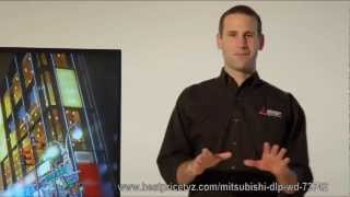 Mitsubishi WD-73742 73 Inch 3D DLP TV Review