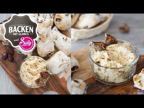 Olivenbrötchen mit Feigenaufstrich - Demeter | Backen mit Globus & Sallys Welt #59