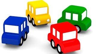 4 МАШИНКИ. Мультики для детей. Пропала жёлтая машинка! #4машинки новые серии #дидитв