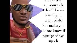 Amaka   2baba Ft Peruzzi Lyrics Video