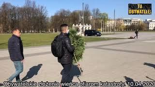 Różnica pomiędzy Kaczyńskim, a zwykłym plebsem – interwencja wojska pod pomnikiem