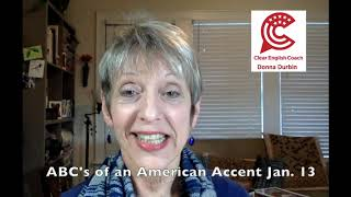 8 Week Online Course with Clear English Coach - Accent Reduction