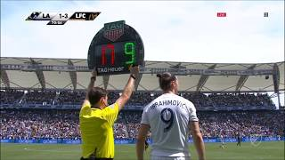 Zlatan Ibrahimović   LA Galaxy 4-3 Los Angeles   2018 MLS Matchday 5