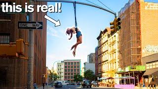 Extreme Acrobats Avoid Police for INSANE Public Stunts / ft Cirque du Soleil
