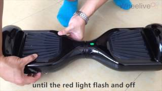 how to reset the mini smart scooter (hover board)