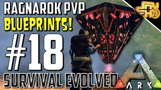 ARK OFFICIAL PVP RAGNAROK   S2 EP18  GETTING AWESOME BLUEPRINTS!