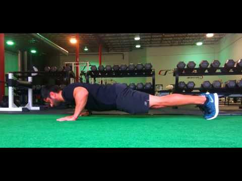 Eccentric Only Push-Up