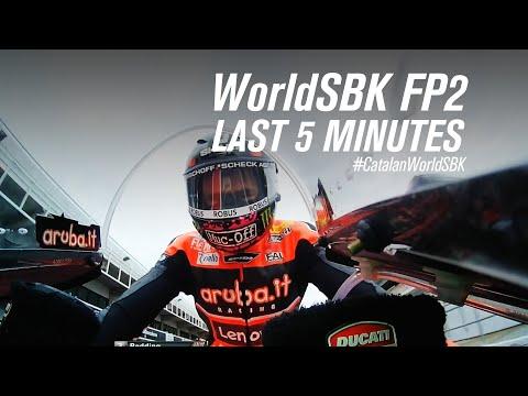 スーパーバイク世界選手権 SBK 第6戦スペイン(カタルニア・サーキット)7分でみるフリープラクティス2のハイライト動画