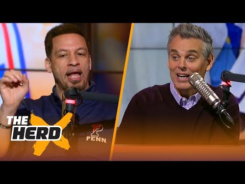Chris Broussard on Joel Embiid after huge game vs LA, Lonzo's struggles, LeBron's future | THE HERD