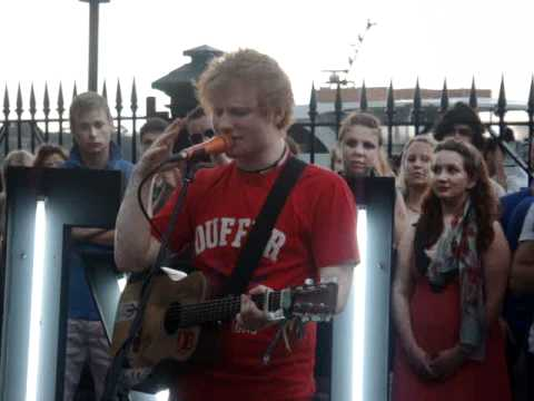 The A Team Ed Sheeran- Channel V Guerrilla Gig Mp3