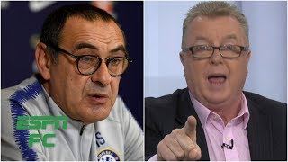 Getting heated over Maurizio Sarri's 'bizarre' Chelsea tactics | Premier League