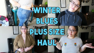 Winter Blues Plus Size Fashion Haul!