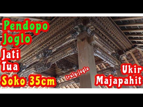 Jual Joglo Ukir soko 35cm kayu Jati Recycled dengan kualitas Bahan & Pengerjaan terbaik