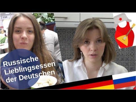 Russische Lieblingsspeisen der Deutschen [Video]