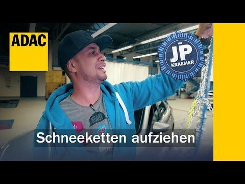 ADAC How To Schneeketten aufziehen | ADAC
