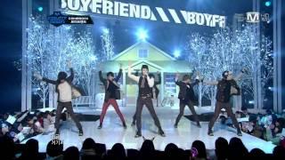 HD 111208 (8 Dec 2011) BOYFRIEND - I'll Be There Live @ Mnet M!Countdown