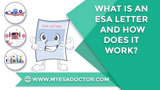 What is an ESA Letter and How does it work?