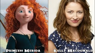 Brave Disney Characters And Their Voice Actors
