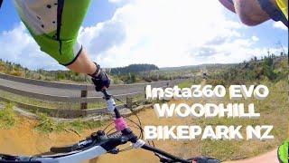 Insta360 EVO VR 180 Woodhill Bike Park
