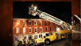 preview picture of video 'High Hazard Building Fire. Box 2-A Brookville Borough - Reynoldsville Fire'