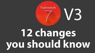 Framework7 V3 – 12 Changes You Should Know!