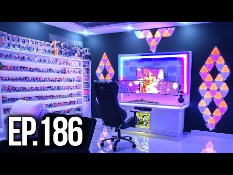 Room Tour Project 186 - CRAZY Gaming Setup Edition!